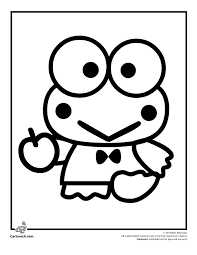 Printable free hello kitty coloring sheets for kids to enjoy the fun of coloring and learning while sitting at home. Kerropi Hello Kitty Colouring Pages Hello Kitty Coloring Coloring Pages