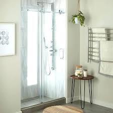 sliding shower door bottom track sliding shower door chrome doors without bottom track sliding shower door