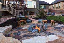 Rustic Outdoor Fire Pit Ideas image and description