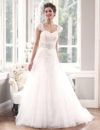 cap sleeve wedding dress comes in pretty detail www aiboulder com