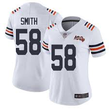 Jersey Women's Limited Nfl 100th Bears Season Daniels Nike Chicago 68 White James|Packers' Davante Adams Hospitalized In Green Bay After Taking Vicious Hit Vs. Bears