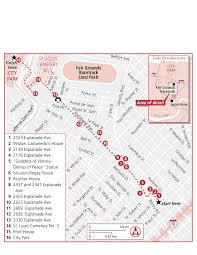 garden district new orleans walking tour map. New Orleans Walking Map Usa Maps Us Country Mapsrhbengreyco: Garden District Tour R