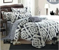 wamsutta bedding luxury geometric silver set king size queen grey duvet cover designer bed in a wamsutta bedding