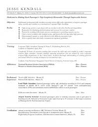 Flight Attendant Resume Cover Letter Sle Professional Invoice Free