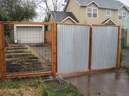 galvanized metal sheets fencing