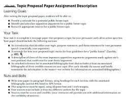 Memo Proposal Format Topic Proposal Format Research Paper Template Memo Example