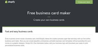 10 Free Business Card Makers With Customizable Templates