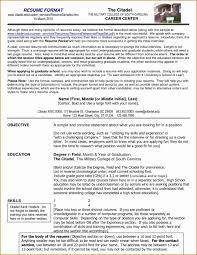 Resume Propere Format Elegant Curriculum Vitae Cv Samples