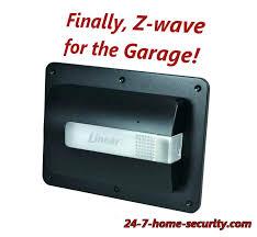 z wave garage door control