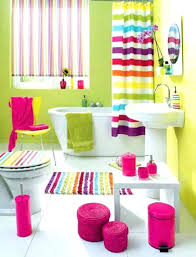 multi colored bath rugs bright bathroom colors astounding wall paint brightly decor color stripe rug colo