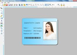 Letterhead Cards Business Download Software Labels Generator Maker Employee Id Student Creator