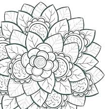 coloring pages for flowers flower games of images
