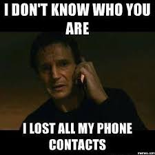 Image result for cell phone contacts