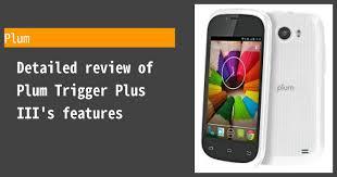 Plum Trigger Plus III Photos, Specs ...