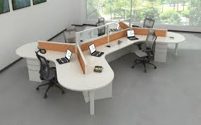 open office concepts. Modular Workstations With 120-degree Curves To Accommodate Unique, Flexible Open Office Floor Plans. Concepts 6