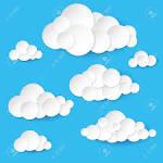 Как сделать облака на бумаге 182