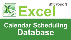 microsoft excel scheduling template microsoft excel calendar scheduling template youtube