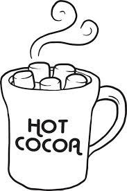 Small Picture FREE Printable Hot Cocoa Coloring Page for Kids