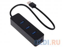 Концентратор <b>USB Orico W5PH4</b>-<b>U3</b> (черный) — купить по ...