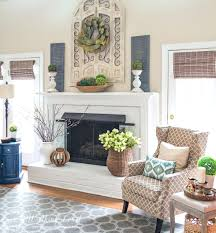 fireplace mantel decor my spring and hearth court this celebrates the  arrival of by filling with