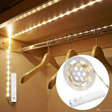 closet lighting battery. Led Dual Mode Motion Night Light Battery Operated Flexible Strips With Sensor Closet For Bedroom Cabinet Warm White Car Lighting Y