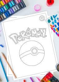 In the end, they'll have a masterpiece that resembles their favorite pokémon characters! 100 Best Free Printable Pokemon Coloring Pages Kids Activities Blog