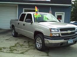 8465 2005 Chevy Pick Up truck 4x4 Silverado 31k 4 door Used Truck in ...