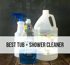 best tub and shower cleaner
