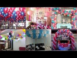 party decoration ideas with balloons