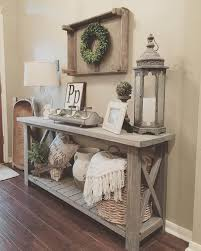 Pallet Entry Table 37 Eye Catching Entry Table Ideas To Make A Fantastic First