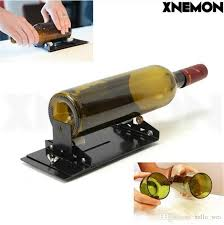2018 xnemon glass bottle cutter machine for wine beer glass bottles bottle cutting tool cutters with plastic pulley yg8 cutter wheel from hello wei
