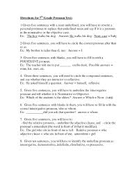 pronouns and antecedents worksheets – streamclean.info