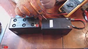 Как восстановить аккумулятор от ИБП <b>UPS APC</b> - YouTube