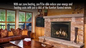 carlton 46 direct vent gas fireplace by kozy heat