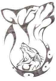 tribal wolf drawings in pencil. Wonderful Tribal Not My Drawing But Wish I Could Do This One Of These Days To Tribal Wolf Drawings In Pencil T