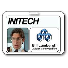 Badge Office Details About Bill Lumbergh Name Badge Halloween Costume Prop Office Space Tv Show Strap Clip