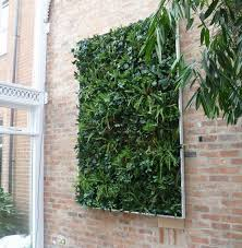 interior landscaping office.  Landscaping Artificial Green Wall Witha Frame On Interior Landscaping Office