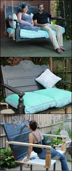 Bench Out Of Headboard Best 25 Benches From Headboards Ideas On Pinterest Headboard