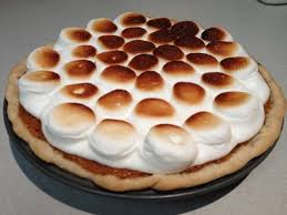 sweet potato pie with marshmallows. Unique Pie Sweet Potato Pie With Marshmallow Topping By Car2ngrl Inside With Marshmallows S