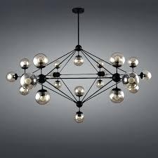 large globe chandelier modern chandeliers iron er pendant chandelier black large led ceiling lamp clear glass globe lights large white globe chandelier