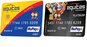 business debit card equitas small