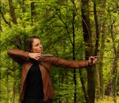 like katniss leather hunting jacket from the hunger games  the hunger games movie katniss leather hunting jacket replica