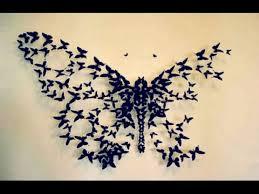 3d Butterfly Wall Decor Butterflies Wall Decorations 15 3d Paper Butterflies 3d Butterfly