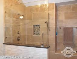 Interesting Tile Walk In Showers Without Doors Inspiration Decorating
