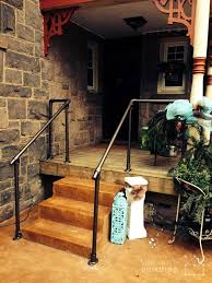metal handrails for deck stairs. front steps deck railing metal handrails for stairs