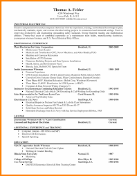 Journeyman Electrician Resume 14 Perfect Staff Analyst Objective