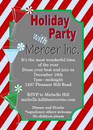 Office Holiday And Christmas Party Invitations 2019
