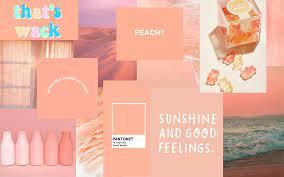 peach aesthetic wallpaper