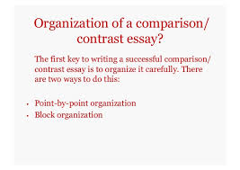 comparison contrast essays self study version