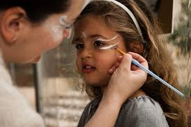 image result for holiday face painting at an event
